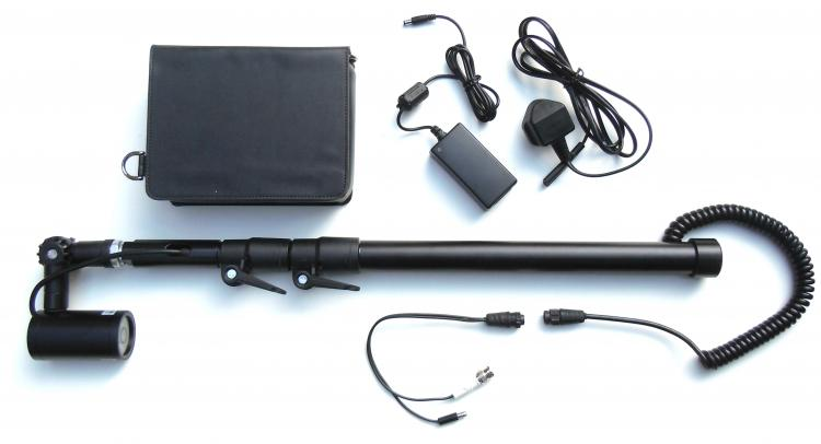 Telescopic Pole Camera 940nm Covert Infra Red